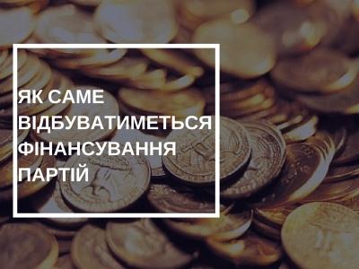 З 1 липня набуває чинності «Закон про фінансування партій»