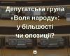 Депутатська група «Воля народу»: у більшості чи опозиції?