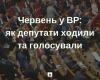 Червень у ВР: як депутати ходили та голосували