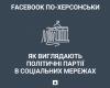 Facebook по-херсонськи: як виглядають політичні партії в соціальних мережах